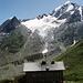Die Vorletzte Etappe dieses tollen Tourentages - die Martin Busch Hütte.