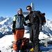 Auf dem Gipfel des Mont Rogneux 3083m