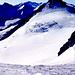 Am Aufstieg zum Fluchtkogel (3500m), Kesselwaldspitze