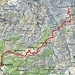Route Alpe Costa - Laghetto