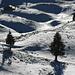 Chalet de La Dôle: Die Schneedecke ist eher dürftig