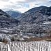 Visp: Rebberge - Industrie - Alpen