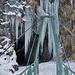 Zugang zum Eiszapfentunnel