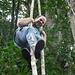 Anton als Tarzan