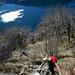 Kraxelei weit über dem Lago di Lugano