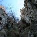 Steiler, nordseitiger Abstieg vom Hautgipfel