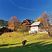 Bauernhof bei der Anfahrt