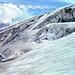 Gletscherbruch am Marmoladagletscher