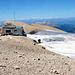 Gipfelhütte auf der Marmolada di Penia