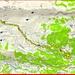 <b>Tracciato GPS Croce del Bosc - Piera</b>.