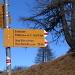 Dal passo Cantonill si seguono le indicazioni