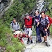 Foto di gruppo sulla scalinata