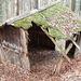 """""""Arbeiterhütte"""", hier wird wohl seit längerem nichts mehr gearbeitet"""