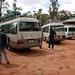 Sosta durante il tragitto con lo shuttle nel tratto Nairobi - Moshi