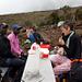 Sosta per il pranzo nel tratto Mandara - Horombo