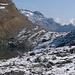 Landesgrenze / Confine dello Stato (vorne Kanton Wallis, hinten Piemonte)