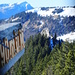 Blick vom Gipfel des Hudelschijen auf den Chli Schijen