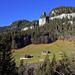 Der Felszapfen ist die Bire, gesehen vom Parkplatz Waldegg, Beatenberg