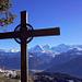... bis zum Gipfelkreuz