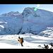 Aufstiegsroute zum Breithorn