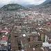 Blick über Quito mit Altstadt