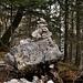 Steinmandli gibt es auch im Jura