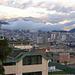 Wolken über Quito