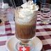 Das obligate Hütten-Kaffi im Restaurant/Café Engi...hhmmmm