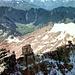 Zugspitzgipfel (2962m) von Norden, <br />Postkarte von 1955