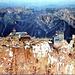 Zugspitzgipfel (2962m) von Süden<br />Postkarte von 1955