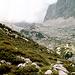 Abstieg durchs Bergleintal