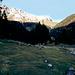Blick aus dem Gaistal zur Gehrenspitze (2367 m) mit Monika