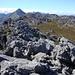 Fortsetzung des Wegs in südlicher Richtung nach den beiden Gipfeln