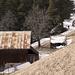 Die Hütte ([http://www.hikr.org/list/25/ Pruemaran]), seinen Besitzer auf der Waldstrasse, die uns für den Abstieg benutzen haben