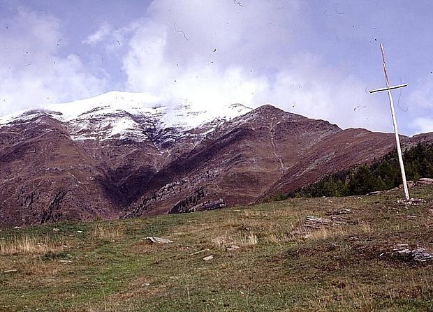 Monte Cermigna,leider im Gipfelbereich verschneit