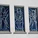 Schön gestaltete Fenster an der Kapelle Jänzimatt