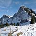 Von der Heimegg aus gesehen ein markanter Gipfel: der Rotspitz