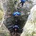 Abstieg durch den Tunnel            [http://www.matthias.hikr.org Home]