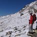 Monica alla sella 2270 metri.