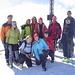 Die ganze Gruppe auf dem Gipfel: Herbert ([u Climby]), Christine, Pet ([u Petite]), Ich, Alex, Jana, Angelika, Birgit, Carsten, Gisela und Berni