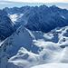 Der steile Piz Lunghin- vom Piz Crevasalvas aus gesehen