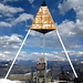 Triangulationsdreieck - Auf dem Gipfel des Monte Generoso 1701m