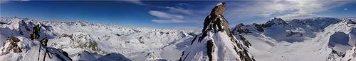 Panorama Gross Leckihorn