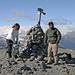 Eisiger Wind auf dem Gipfel (Bea, Robin, Yannick)