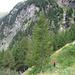 Nei pressi dell'Alpe di Giumela.
