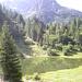 Lago del Prato e deviazione per il Longo