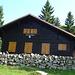 Die SAC Hütte auf dem Mont Raimeux 1302m
