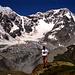 Grandiose Bergwelt - wie ist klein doch der Mensch