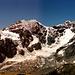 Das Suldener Dreigestirn:  König Ortler, Mte. Zebru und Königsspitze