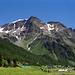 Die Schöntaufspitzen oberhalb von Sulden in Südtirol
